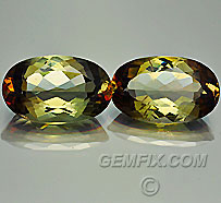 Andalusite Oval Pair