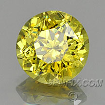 bright yellow garnet