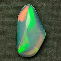green red orange wello opal