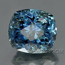 montana sapphire large blue cushion