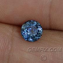 deep blue montana sapphire round