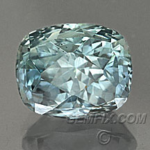 untreated cushion american sapphire