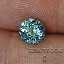untreated round sapphire from montana