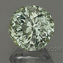 untreated round montana sapphire