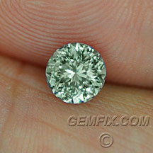 green unheated Mantana sapphire