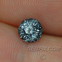 round Montana sapphire