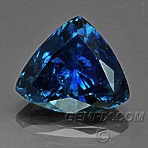dark blue Montana Sapphire