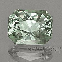 Montana Sapphire radiant untreated