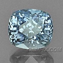 cushion Montana Sapphire denim blue