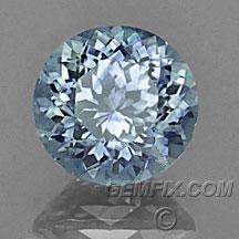 round Montana Sapphire denim blue