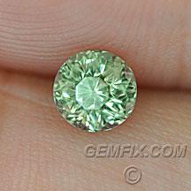 round green blue yellow montana sapphire