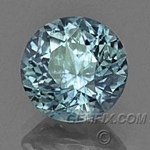 montana sapphire round denim blue