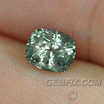 cushion unheated montana sapphire