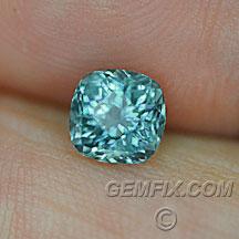 Montana Sapphire cushon green blue