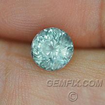 round unheated Montana sapphire
