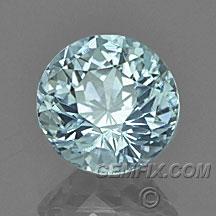 round natural Montana Sapphire