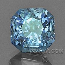 radiant Montana Sapphire blue