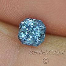 Montana Sapphire blue radiant
