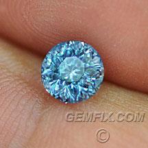 Montana Sapphire blue round