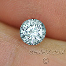 Montana Sapphire round unheated