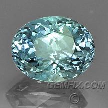 unheated Montana sapphire oval