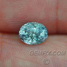 Montana sapphire unheated oval