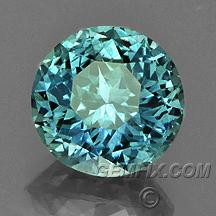 green blue large round Montana sapphire