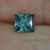Montana Sapphire radiant blue green