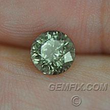 Montana Sapphire green round