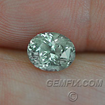 Montana Sapphire untreated oval