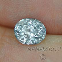 Montana Sapphire oval untreated