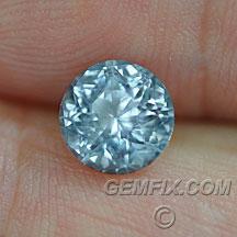 Montana Sapphire round blue untreated