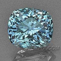 cushion Montana Sapphire