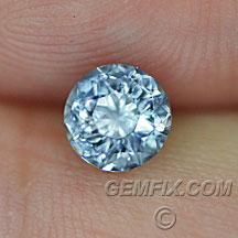 round Montana Sapphire aqua blue