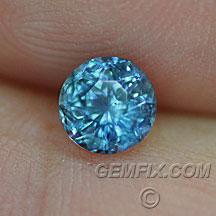 Montana Sapphire denim blue round