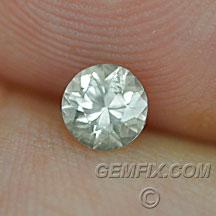 Montana Sapphire yellow unheated round