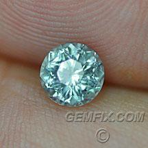 Montana Sapphire unheated green round