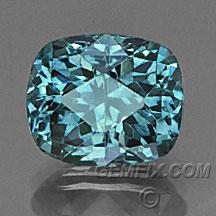 teal blue green cushion Montana Sapphire