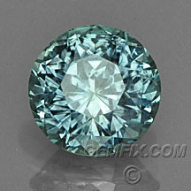 green blue untreated round Montana Sapphire