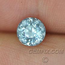 Montana Sapphire untreated round