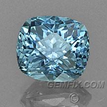 Montana Sapphire denim blue cushion