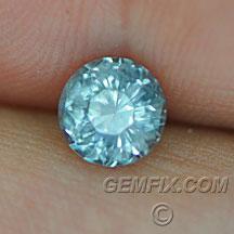 Montana Sapphire no treatment round blue