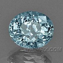 oval Montana Sapphire