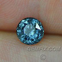 Montana Sapphire deep blue round