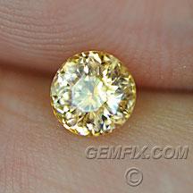 Montana Sapphire round yellow