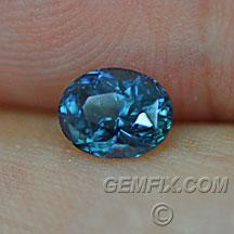 Montana Sapphire oval royal blue