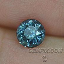 round Montana Sapphire blue