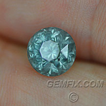 Montana Sapphire untreated green blue round