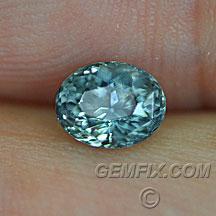 Montana Sapphires green blue oval