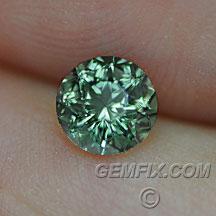 green teal Montana Sapphire round